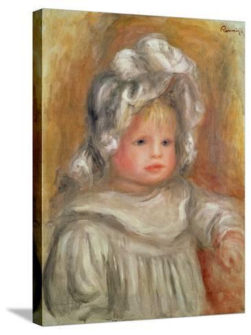 Portrait of a Child-Pierre-Auguste Renoir-Stretched Canvas Print