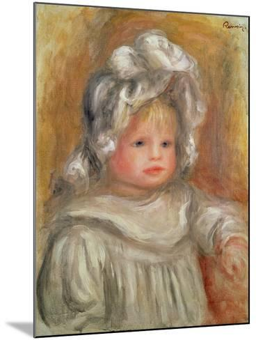 Portrait of a Child-Pierre-Auguste Renoir-Mounted Giclee Print