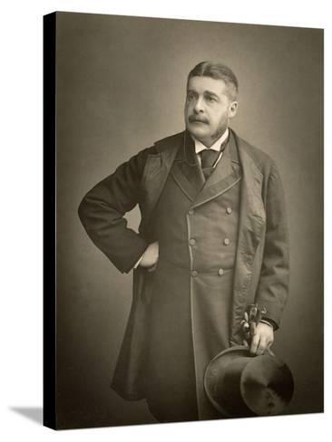 Sir Arthur Sullivan, Composer, Portrait Photograph-Stanislaus Walery-Stretched Canvas Print