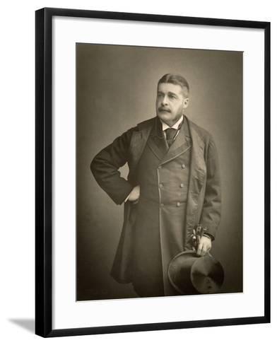 Sir Arthur Sullivan, Composer, Portrait Photograph-Stanislaus Walery-Framed Art Print