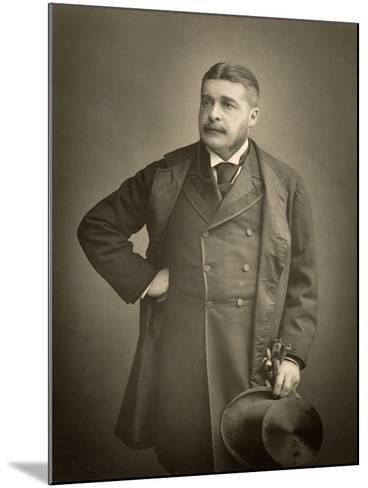 Sir Arthur Sullivan, Composer, Portrait Photograph-Stanislaus Walery-Mounted Giclee Print