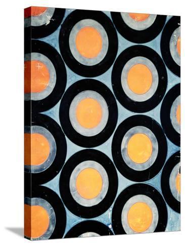 Circle Motif Texile Design-Varvara Fedorvna Stepanova-Stretched Canvas Print