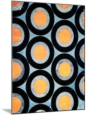 Circle Motif Texile Design-Varvara Fedorvna Stepanova-Mounted Giclee Print