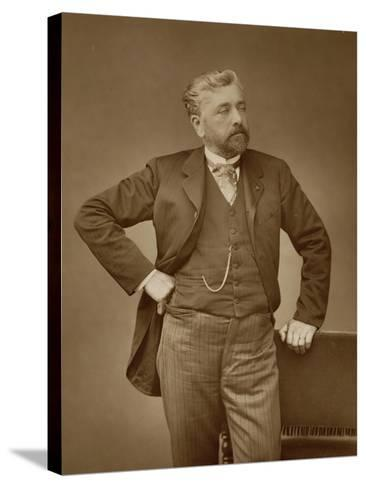 Alexandre Gustave Eiffel-Stanislaus Walery-Stretched Canvas Print