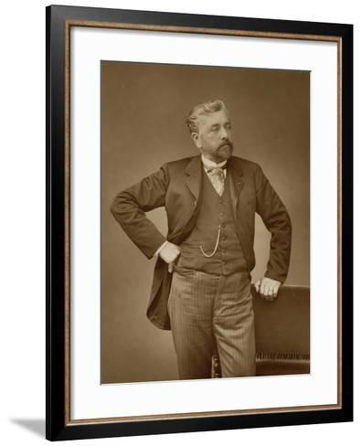 Alexandre Gustave Eiffel-Stanislaus Walery-Framed Art Print