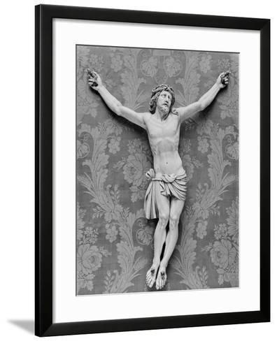 Christ Crucified, by Michelangelo Buonarroti--Framed Art Print
