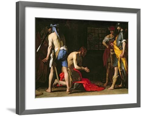 The Beheading of John the Baptist, 1634-Massimo Stanzione-Framed Art Print