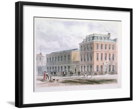 View of Soho Square and Carlisle House-Thomas Hosmer Shepherd-Framed Art Print