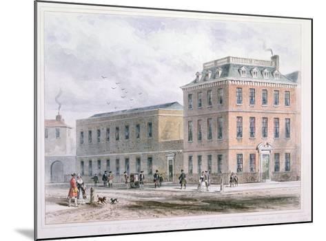 View of Soho Square and Carlisle House-Thomas Hosmer Shepherd-Mounted Giclee Print