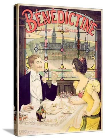 Advertisement for Benedictine, printed by Imp. Andre Silva, Paris, 1898-Lucien Lopes Silva-Stretched Canvas Print