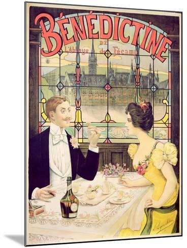 Advertisement for Benedictine, printed by Imp. Andre Silva, Paris, 1898-Lucien Lopes Silva-Mounted Giclee Print