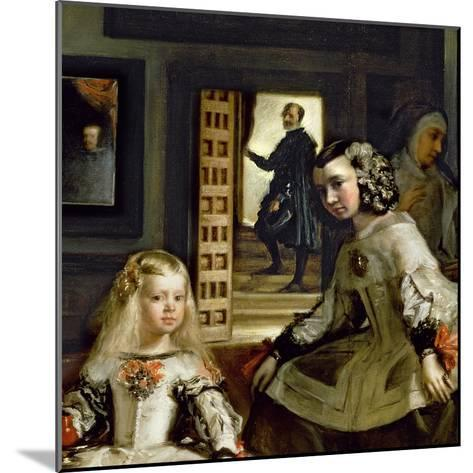 Las Meninas or the Family of Philip Iv, C.1656-Diego Velazquez-Mounted Giclee Print