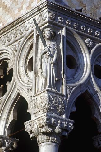 Archangel Saint Michael--Stretched Canvas Print