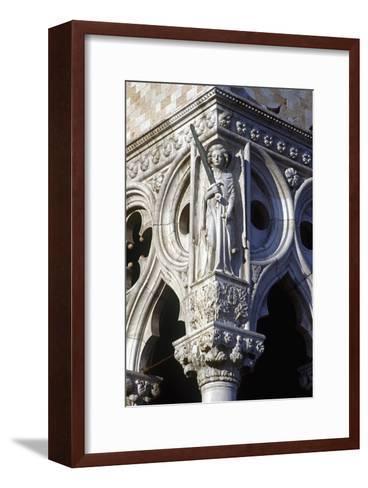 Archangel Saint Michael--Framed Art Print