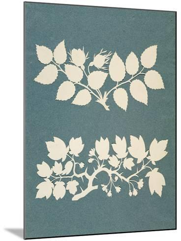 A Rose Branch and Jasmin Branch-Philipp Otto Runge-Mounted Giclee Print