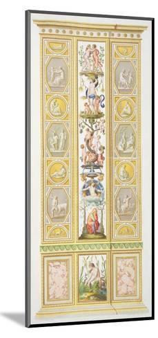 Panel from the Raphael Loggia at Vatican, from 'Delle Loggie di Rafaele nel Vaticano'-Ludovicus Tesio Taurinensis-Mounted Giclee Print