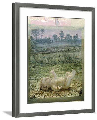 A Section from the Second Version of 'The Morning', 1810-Philipp Otto Runge-Framed Art Print