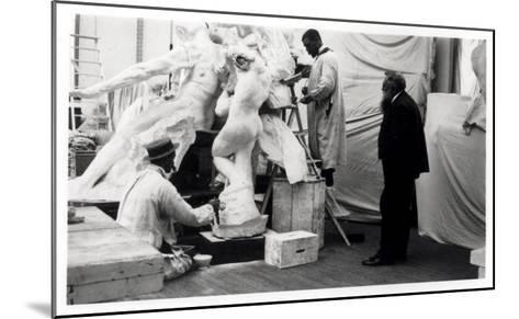 Auguste Rodin--Mounted Giclee Print