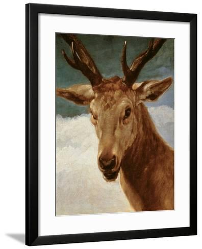 Head of a Stag, 1634-Diego Velazquez-Framed Art Print