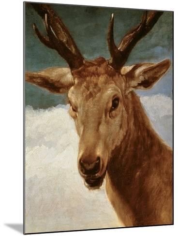 Head of a Stag, 1634-Diego Velazquez-Mounted Giclee Print