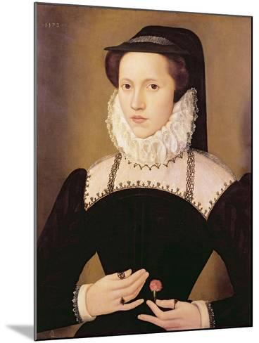 Portrait of Anne Waltham, 1572-Francois Quesnel-Mounted Giclee Print