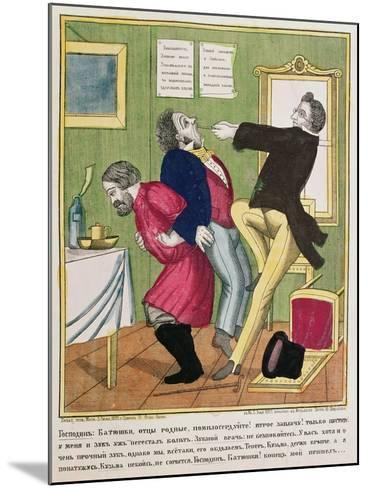 A Dentist Pulling a Tooth, 1857--Mounted Giclee Print