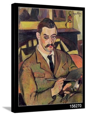 Portrait of Maurice Utrillo-Suzanne Valadon-Stretched Canvas Print