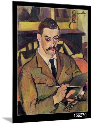 Portrait of Maurice Utrillo-Suzanne Valadon-Mounted Giclee Print