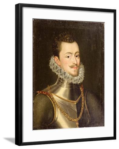 Portrait of Don John of Austria-Alonso Sanchez Coello-Framed Art Print