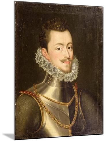 Portrait of Don John of Austria-Alonso Sanchez Coello-Mounted Giclee Print