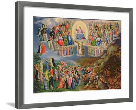 The Last Judgement-Bartholomaeus Spranger-Framed Art Print