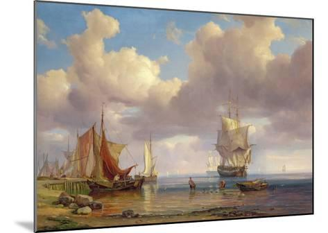 Calm Sea, 1836-Adolf Vollmer-Mounted Giclee Print