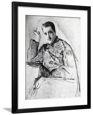 Serge Diaghilev, 1904-Valentin Aleksandrovich Serov-Framed Art Print