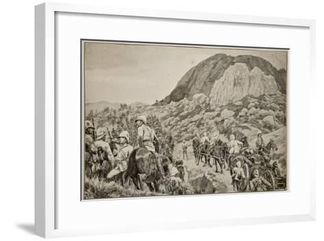Going Out to the Attack on Spion Kop on January 24Th-Richard Caton Woodville-Framed Art Print