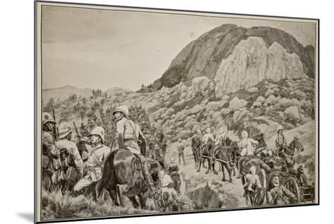 Going Out to the Attack on Spion Kop on January 24Th-Richard Caton Woodville-Mounted Giclee Print