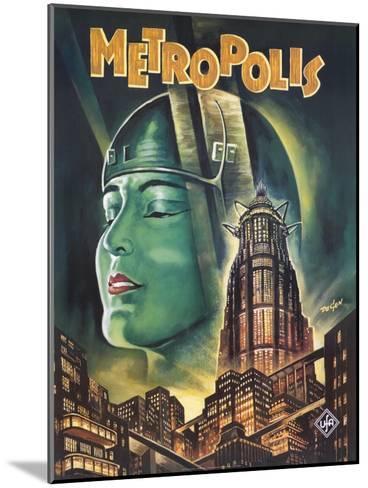 Metropolis, 1926--Mounted Art Print