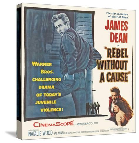 Rebel Without a Cause, 1955--Stretched Canvas Print