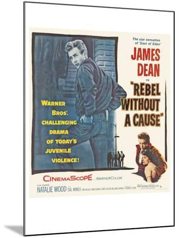 Rebel Without a Cause, 1955--Mounted Art Print