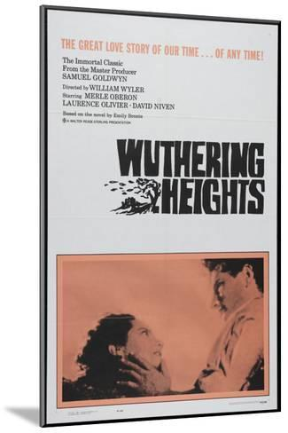 Wuthering Heights, 1939--Mounted Art Print
