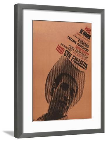 Hud, Polish Movie Poster, 1963--Framed Art Print