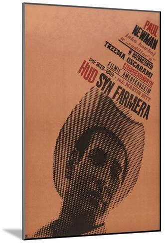 Hud, Polish Movie Poster, 1963--Mounted Art Print