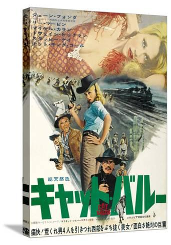 Cat Ballou, Japanese Movie Poster, 1965--Stretched Canvas Print