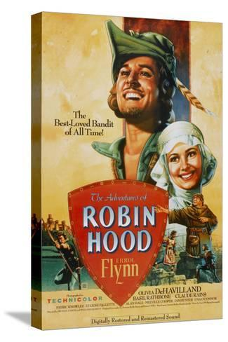 The Adventures of Robin Hood, 1938--Stretched Canvas Print