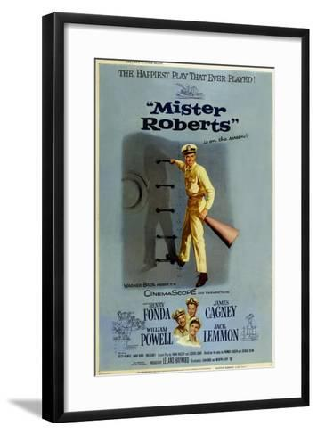 Mister Roberts, 1955--Framed Art Print
