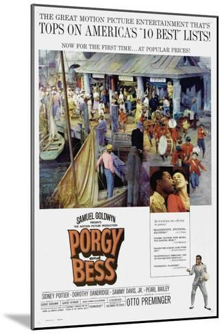 Porgy and Bess, 1959--Mounted Art Print