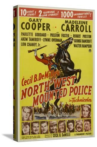 North West Mounted Police, 1940--Stretched Canvas Print