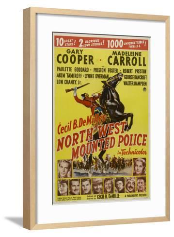 North West Mounted Police, 1940--Framed Art Print