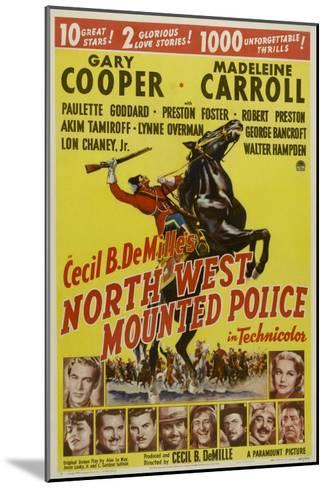 North West Mounted Police, 1940--Mounted Art Print