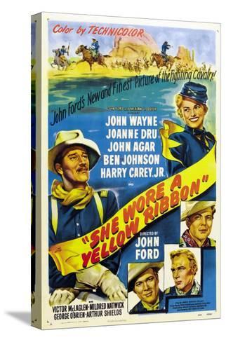 She Wore a Yellow Ribbon, 1949--Stretched Canvas Print