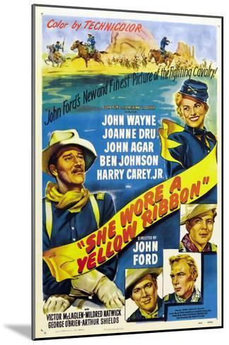 She Wore a Yellow Ribbon, 1949--Mounted Art Print